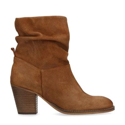 spécial chaussure mignon pas cher choisissez le dégagement Boots femme nubuck beige   La Redoute