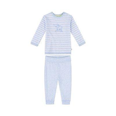 f543fb8c05f36 Sanetta Pyjama rayé éléphant pyjama bébé tenues de nuit... Sanetta Pyjama  rayé éléphant