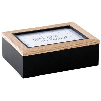 Boite à compartiment avec cadre photo sur le couvercle Boite à compartiment  avec cadre photo sur 09cfb1880b6b
