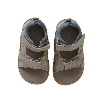 a71de29e8f1 Sandales scratchées bébé garçon en cuir VERTBAUDET. «