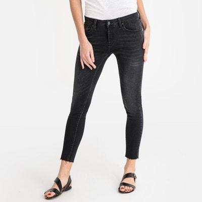 db52a00bbb1915 Lily Denim Used Skinny Jeans, Length 27.5