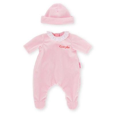 08fa6067d446 Vêtement pour poupée Corolle 30 cm   Pyjama rose Vêtement pour poupée  Corolle 30 cm