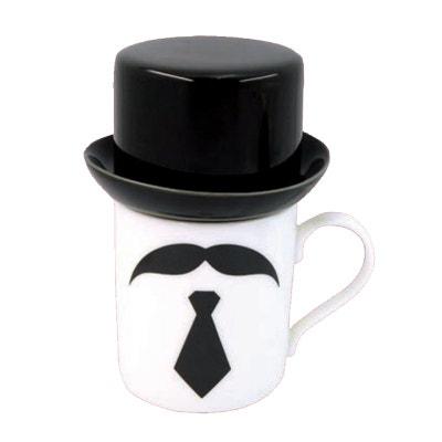 fe8aff5f399 Mug chapeau moustache et cravate Mug chapeau moustache et cravate ENESCO.  ENESCO. Mug chapeau moustache et cravate. 17