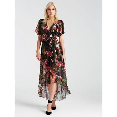 61aacc76621 Robe Longue Imprime Floral Robe Longue Imprime Floral GUESS