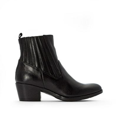 Boots in leer Dallas Boots in leer Dallas MJUS