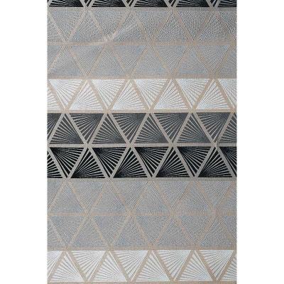 rideau forme geometrique la redoute. Black Bedroom Furniture Sets. Home Design Ideas