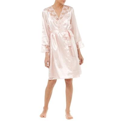 Robe De Chambre Satin La Redoute