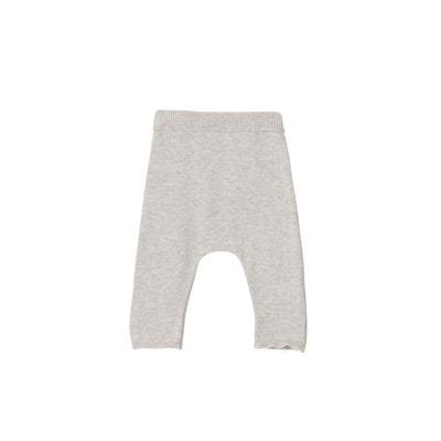 0685109897e1f Pantalon bébé naissance en tricot de coton bio VERTBAUDET