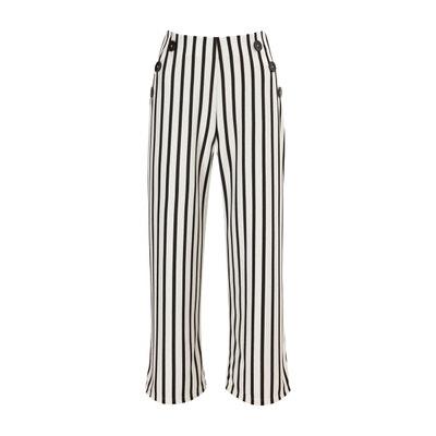 b92ea4205f0867 Pantalon large noir best en solde   La Redoute