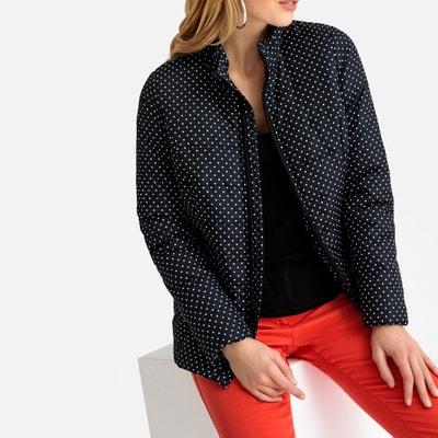 6e93803a867 Куртка стеганая короткая с рисунком с обработкой Teflon® Куртка стеганая  короткая с рисунком с обработкой