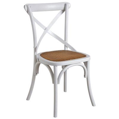 Chaise Rotin Blanc