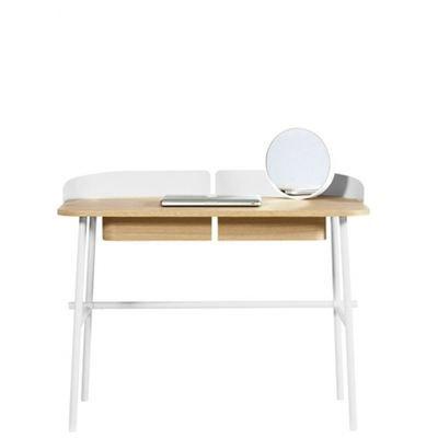 Bureau blanc brillant Bureau Focus 120 cm x 60 cm Ordinateur Portable Table NEUF
