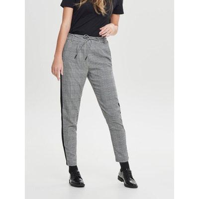 Pantalon À carreaux Pantalon À carreaux ONLY c8d135e89f8