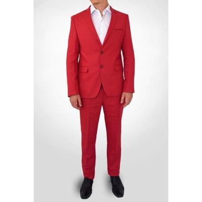 Costume Homme Rouge Bordeaux La Redoute