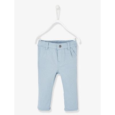 e1412470e5f37 Pantalon chino en molleton bébé garçon VERTBAUDET
