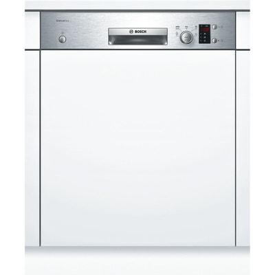 bosch - lave-vaisselle 60cm 12c 48db a+ intégrable avec bandeau inox -  smi25as00e bosch 2adf98e96cf5