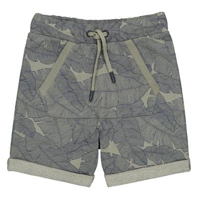 328db278323 Bermuda en molleton camouflage 3-12 ans LA REDOUTE COLLECTIONS