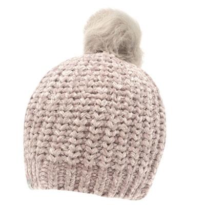 Bonnet tricoté à pompon Bonnet tricoté à pompon FIRETRAP eb05e2bdfd5