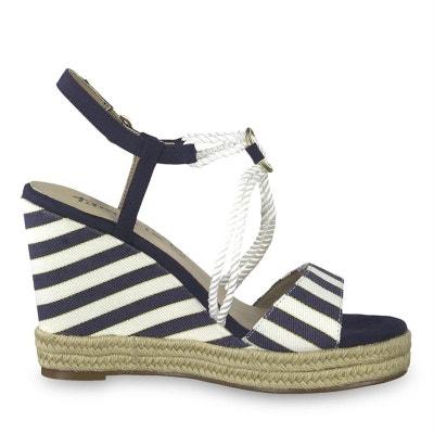 02b9cae7d83 sandales   nu-pieds toile TAMARIS