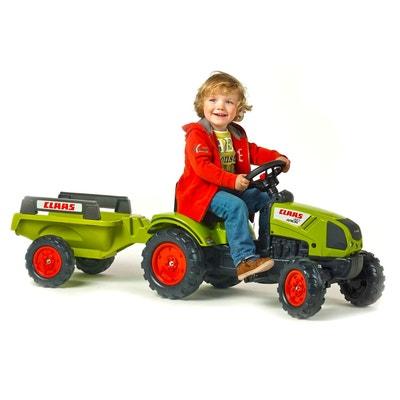 Tracteur à pédales Claas Arion 410 + Remorque FALK   FALQUET 442ebe7cfb52