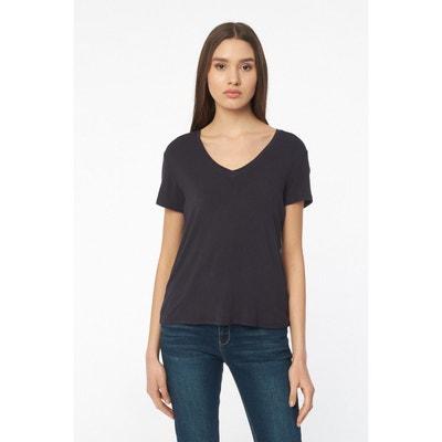 a587c5683d72c T-shirt fluide col V T-shirt fluide col V BEST MOUNTAIN