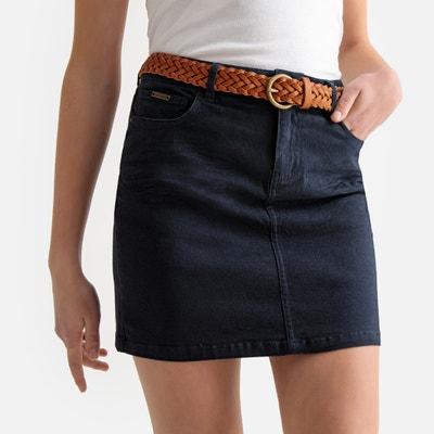 Jupe courte en jean avec ceinture Jupe courte en jean avec ceinture BEST MOUNTAIN