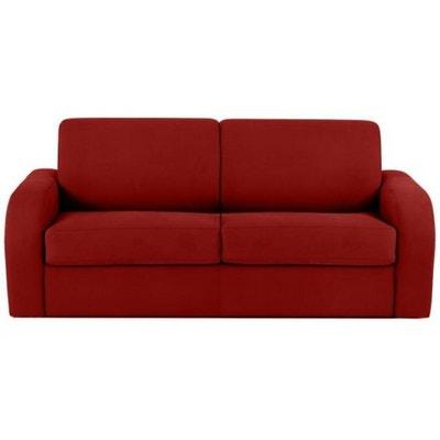 canape convertible rouge 3 places la redoute. Black Bedroom Furniture Sets. Home Design Ideas