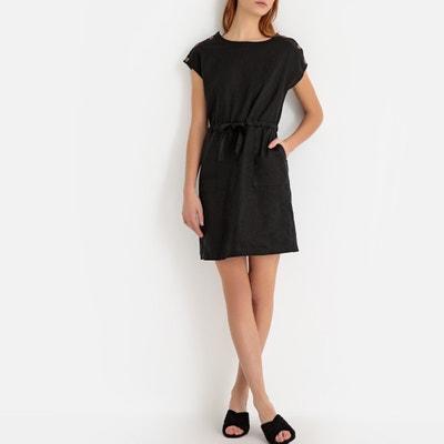 04b86d7ea4d Rechte linnen jurk zonder mouwen LA REDOUTE COLLECTIONS