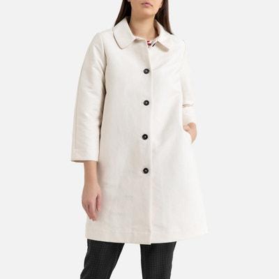 manteau femme couleur ecru