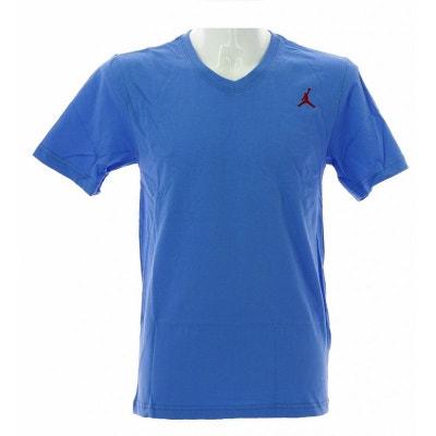 f388d635393806 Tee-shirt Nike Jordan Core V-Neck - 456580-412 NIKE