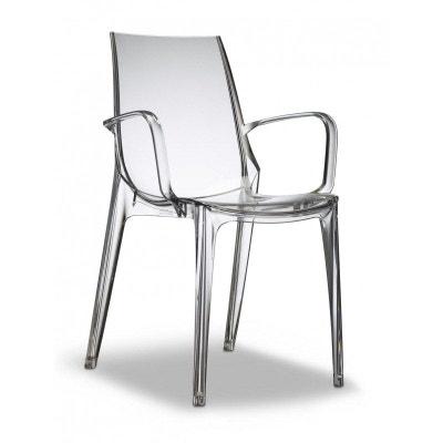 Chaise plastique avec accoudoir   La Redoute