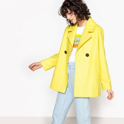 acheter en ligne 3afef b54ad Manteau long jaune | La Redoute