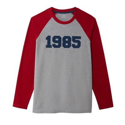 b179863d715e T-shirt manches longues col rond esprit campus T-shirt manches longues col  rond
