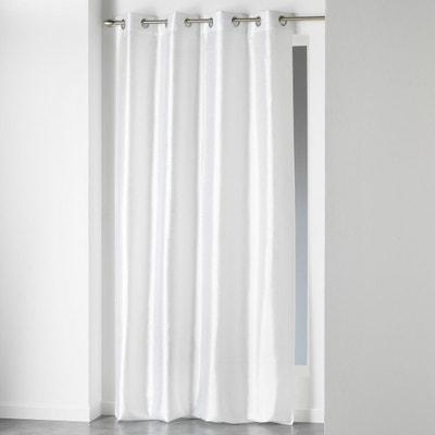 Rideau blanc salon   La Redoute