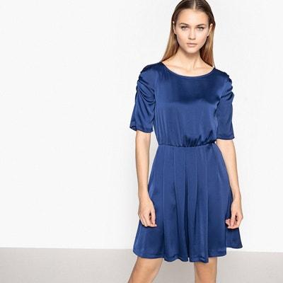af22e20f518 Robe bleu marine chic