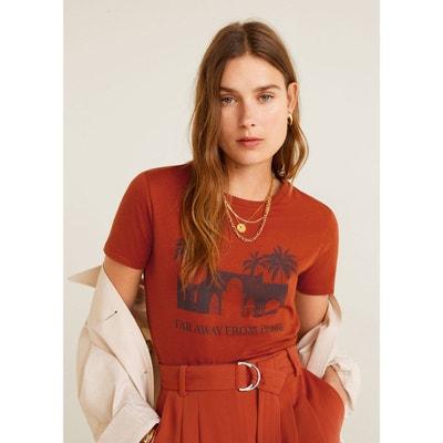41970c70872a5 T-shirt coton imprimé T-shirt coton imprimé MANGO