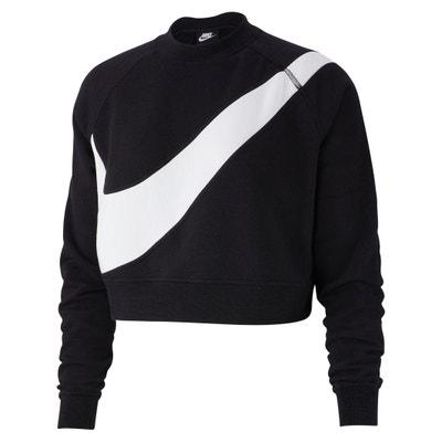 Kort sweatshirt met groot logo op de borst Kort sweatshirt met groot logo op de borst NIKE