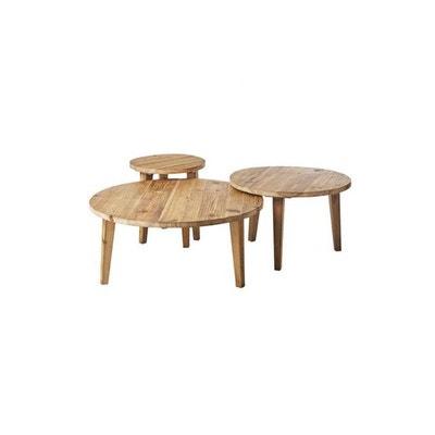 Table Gigogne Bois La Redoute