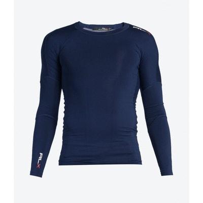 8fa0e93e9389cd T-shirt LS CN PO NAVY T-shirt LS CN PO NAVY RALPH LAUREN. Soldes