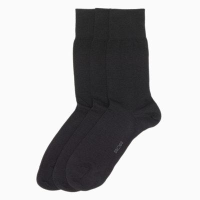 216a1d9c17c Lot de 3 paires chaussettes laine majoritaire Lot de 3 paires chaussettes  laine majoritaire HOM