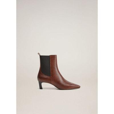 Boots cuir à talon calcutta Jonak | La Redoute