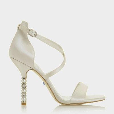 Chaussures blanches femme petit talon   La Redoute