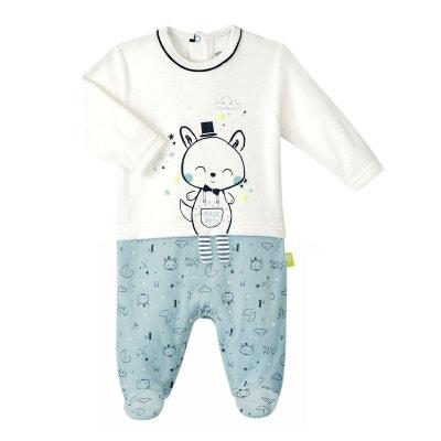 615b8c6dbc8d4 Pyjama bébé garçon velours Magic Party PETIT BEGUIN