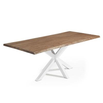 Table salle a manger bois vieilli | La Redoute