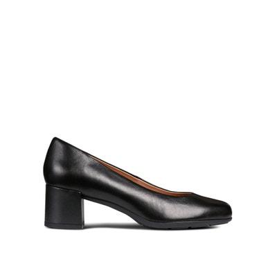 91f3d381 Zapatos de tacón transpirables de piel Annya GEOX