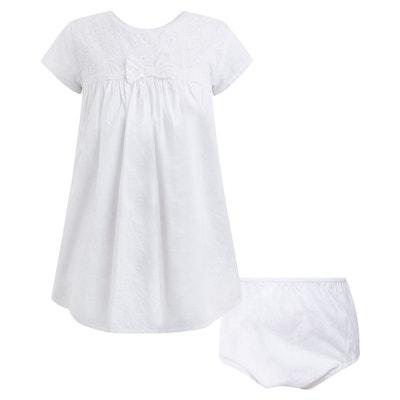 3cbea1a0970 Robe bbwhite bébé fille CANADA HOUSE