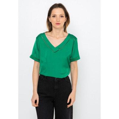 Tee shirt vert emeraude femme | La Redoute
