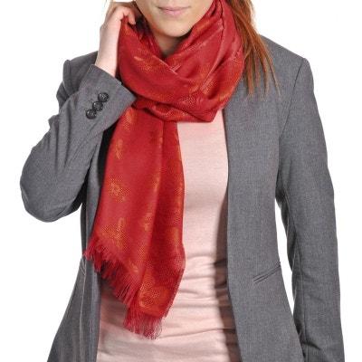 Echarpe légère Baronnie Rouge - Fabriqué en France QUALICOQ e4c2f810946
