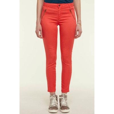 b20671e97dfc Pantalon 7 8 zip côté NAF NAF