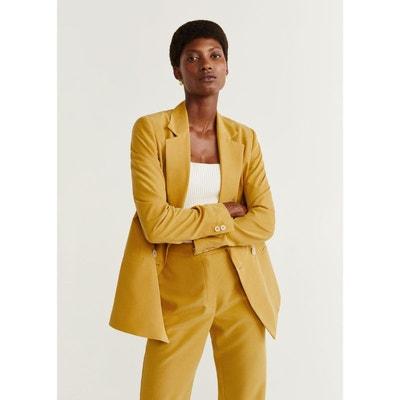 fashion style best supplier new authentic Veste blazer femme jaune | La Redoute